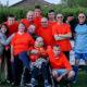 Voetbalteam Stichting De Okkernoot Koningsdag 2018 Schoondijke
